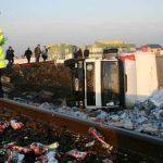 UPDATE: Doua victime intr-un accident feroviar la pasajul CFR de pe drumul de centura din Baia Mare