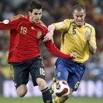 David Villa califica Spania in minutele de prelungire