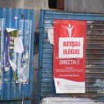 AFISAJ ELECTORAL – AMENZI – Candidati la Parlament amendati pentru ca si-au lipit afise in locuri ilegale din Baia Mare