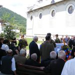 AUREL CIOLTE – Inmormantare cu onoruri militare pentru presedintele Asociatiei Veteranilor de Razboi din Maramures