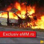 CITITORII IN ACTIUNE – ACCIDENT SEINI – Imagini terifiante dupa accidentul in care un sofer a ars de viu langa Seini (FOTO si VIDEO)