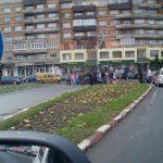 CITITORII IN ACTIUNE – ACCIDENT – Doua masini s-au ciocnit pe bulevardul Unirii din Baia Mare