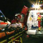 EXCLUSIV eMM.ro – Un maramuresean evadat dintr-o inchisoare din Spania a fost prins in masina politistului lovita de tren la Hideaga