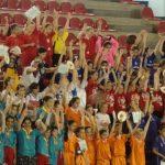 MINIHANDBAL. Si a fost, in Baia Mare, prima editie a turneului final al Campionatului National de junioare V
