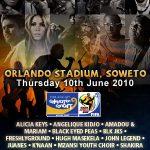 CM 2010. Azi are loc concertul extraordinar prilejuit de Campionatul Mondial din Africa de Sud