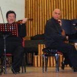 RECITAL – MUZICA CLASICA – Fatyol Rudolf Stefan si Remus Manoleanu au deschis stagiunea concertelor de la Liceul de Arta din Baia Mare