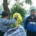 CONTROALE INOPINATE – Comercianti evacuati din zona standurilor de la Sarbatoarea Castanelor 2010 (VIDEO)