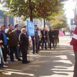 ACTUALIZARE – PICHETARE – Proteste sindicale la sediile PDL si UDMR din Baia Mare au tinut doar 30 de minute (VIDEO)