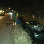 ACTUALIZARE  – Un sofer si-a distrus masina si a ajuns in spital dupa ce a omorat un cal pe E58, la Sabisa (VIDEO)