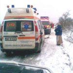 ACTUALIZARE – ACCIDENT – Un barbat a murit dupa ce masina in care era a derapat intre Rogoz si Libotin (VIDEO)