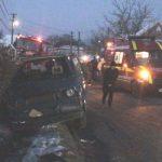 ACTUALIZARE – ACCIDENT – O femeie a murit si un barbat a fost ranit in urma unui accident in Somcuta Mare (VIDEO)