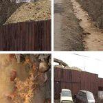 PARAU OTRAVIT – Poluarea le bate la usa baimarenilor de pe strada Nucului (VIDEO)