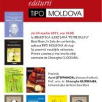 EVENIMENT – Intalnire cu cartile editurii Tipo Moldova, la Biblioteca Judeteana
