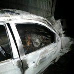 ACTUALIZARE – ACCIDENT – Sofer carbonizat dupa un grav accident de circulatie produs la Fauresti (VIDEO)