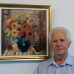 "VERNISAJ – ""Mostenire de familie"" transformata in tema artistica, in tablourile cu flori ale lui Nicolae Pop"
