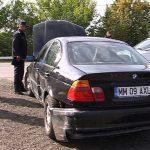 ACTUALIZARE – ACCIDENT GROSI – Un sofer si-a dus cumnatul la cumparaturi dupa care a intrat cu masina in parapet (VIDEO)