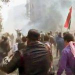 VICTIME – CAIRO – Noi confruntari in piata Tahrir, soldate cu 79 de raniti