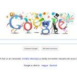 LOGO – REVELION – Google sarbatoreste Anul Nou cu un logo special si cu un clip cu cele mai importante momente din 2011
