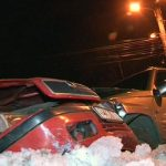 ACCIDENT – Soferita incarcerata dupa o coliziune auto in centrul orasului Baia Sprie (VIDEO)