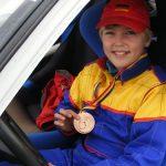 RALLY SPRINT 2012 – Baimareanul David Tarta, locul 3 la primul lui concurs Rally Sprint