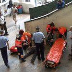 ACCIDENT – Un barbat si-a pierdut cunostinta in Gara din Baia Mare dupa ce a cazut peste o balustrada (VIDEO)