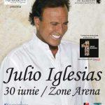 CONCERT – IGLESIAS – Romanii au epuizat biletele pentru primele randuri la concertul lui Julio Iglesias