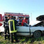 ACTUALIZARE – ACCIDENT MORTAL – Un sofer din Ilba a murit intr-un accident pe DN 19, la Ciuperceni (GALERIE VIDEO)