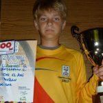 TENIS DE CAMP – Gabriel Liahovici, campion national la dublu, categoria Under 12