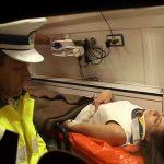 ACTUALIZARE 2 – ACCIDENT – O soferita a cazut cu masina intr-un sant din Valea Chioarului iar altul, intr-o rapa spre Mogosa (VIDEO si GALERII VIDEO)