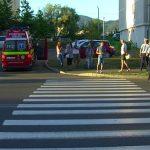 ACTUALIZARE – ACCIDENT – Pieton ranit de un autoturism, pe bulevardul Republicii din Baia Mare (VIDEO)