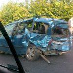 ACTUALIZARE – ACCIDENT – Un smecher dintr-un BMW X5 a facut scandal dupa un carambol cu trei masini pe panta de la Recea (GALERII VIDEO si  FOTO)