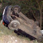 ACTUALIZARE – ACCIDENT – Impact devastator intre doua masini pe drumul spre Mesteacan, la Valea Chioarului (VIDEO si GALERIE FOTO)