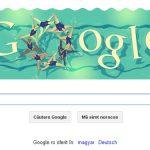 DOODLE – Google promoveaza proba de inot sincron de la Jocurile Olimpice