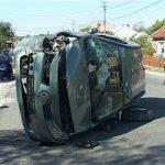 ACCIDENT LA TAUTI – Doi raniti ca urmare a unui accident rutier produs in Tautii de Sus (VIDEO)
