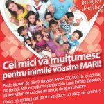 PROIECTE – Peste 3.500 de euro au donat clientii Cora Baia Mare pentru proiectele Fundatiei Somaschi