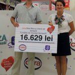 SPRIJIN – Cora si clientii sai au donat 16.600 de lei Fundatiei Somaschi din Baia Mare (GALERIE FOTO)