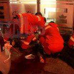 ACTUALIZARE 4 – ACCIDENT MORTAL – Un batran a fost zdrobit de vitrina unui magazin din intersectia bulevardelor Unirii cu Bucuresti din Baia Mare (GALERII VIDEO si FOTO)