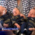 RECORD – O americanca a nascut cei mai mari tripleti din lume (VIDEO)