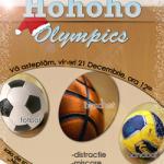 HOHOHO OLYMPICS – Consiliul Local al Tinerilor pregateste sapte ore de fotbal, baschet si handbal