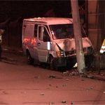 PAGUBE – Baimareni ramasi fara gaz din cauza unui accident rutier pe strada Horea (VIDEO)