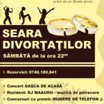 PETRECERE – Sambata se organizeaza un party pentru baimarenii divortati