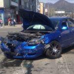 ACCIDENT – Doua soferite si-au spart masinile in centrul municipiului Baia Mare (VIDEO)