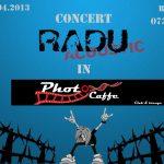 "CONCERT – Maine, ""Radu Acoustic"" va intretine atmosfera in localul Photo Caffe din Baia Mare"