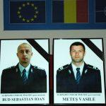 COMEMORARE – Slujba de pomenire pentru politistii decedati in accidentul de circulatie produs in urma cu un an la Buciumi (VIDEO)