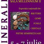 "EXPOZITIE – Podoabe slefuite, cristale naturale si pietre pretioase la Expozitia ""MINERALIA"""