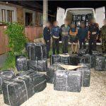 CONTRABANDA – Sapte ucraineni care transportau tigari, opriti cu focuri de arma in Sighetu Marmatiei (VIDEO)