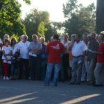 PROTEST – PPMT – Circa 50 de maghiari au protestat in fata Palatului Administrativ impotriva regionalizarii (VIDEO)