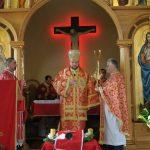HRAM – O multime de credinciosi greco-catolici au luat parte la hramul Bisericii Buna Vestire, sarbatorit cu doua zile mai devreme fata de marele praznic (VIDEO)