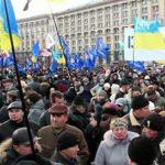 PROTEST – Mii de oameni au manifestat la Donetk, cerand revenirea la putere a lui Viktor Ianukovici