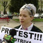 REACTIE – O baimareanca a iesit in strada pentru a protesta impotriva scumpirilor din ultimele zile (VIDEO)